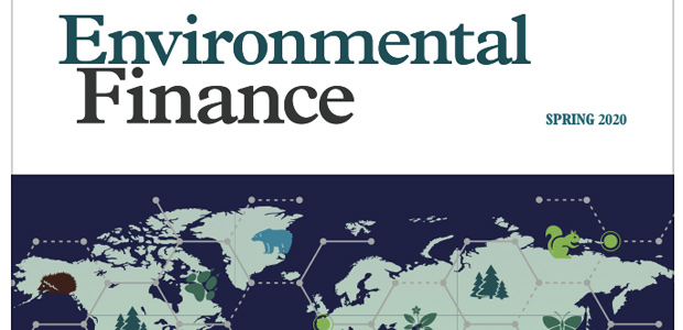 Environmental Finance Spring 2020 issue: digital download