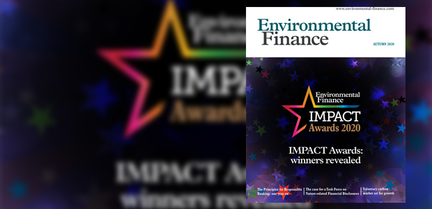 Environmental Finance Autumn 2020 issue: digital download