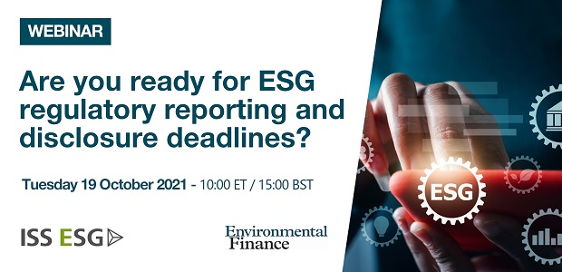 Are you ready for ESG regulatory reporting and disclosure deadlines?