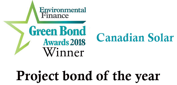 Project bond of the year - Canadian Solar :: Environmental