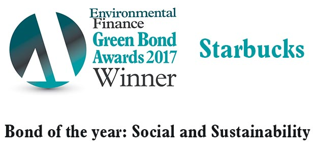 Bond of the year: Social and sustainability - Starbucks