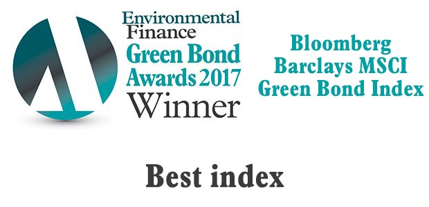 Best index - Bloomberg Barclays MSCI Green Bond Index
