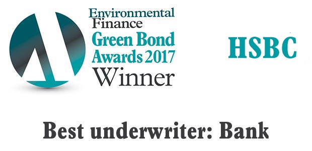 Best underwriter: Bank - HSBC