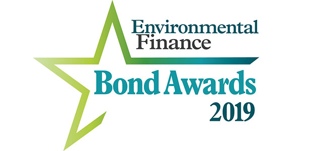 Winners of Environmental Finance Bond Awards 2019 honoured by market