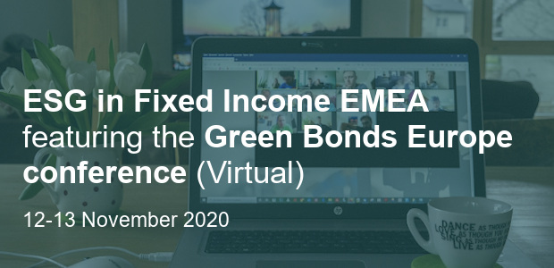 ESG in Fixed Income Europe 2020 - Virtual Conference